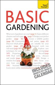 Teach Yourself Basic Gardening