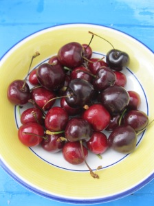 Cherries in a Bowl 3