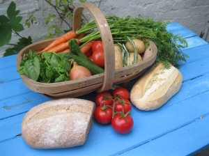 Veg and Bread  2