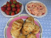 Berry Scones and Strawberry Butter 1
