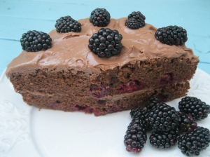 Milk Chocolate Bramble Cake 4