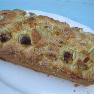 Gooseberry and Almond Loaf 5