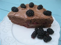 Milk Chocolate Bramble Cake 3
