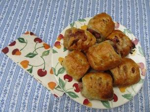 Cherry Sausage Rolls