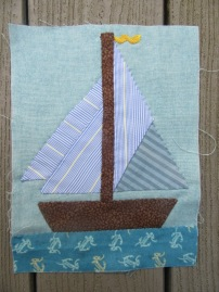 Patchwork Boat 1