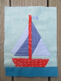 Patchwork Boat 3